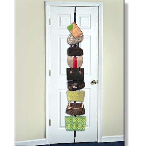 Bag Rack Over The Door Purse Or Bag Holder For College