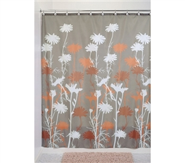 Shopping For College Essential - Daizy Shower Curtain - Fun College Bathroom Supply
