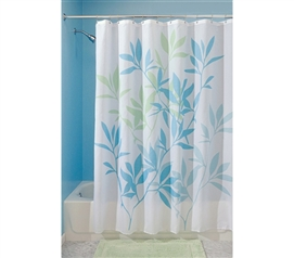 Fun College Items - Gentle Leaves Shower Curtain - Dorm Room Products