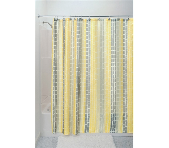 Moxi Shower Curtain Yellow College Items Dorm Bathroom Supplies Fun College Stuff Cool College Decor