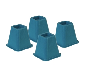 College Supplies Essential - Colored Bed Risers - Blue - Useful Product For College