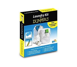 Necessary For Wash - Basic Laundry Kit for DUMMIES (6 Piece Kit) - Products For Dorms