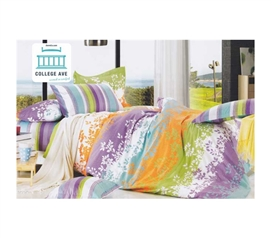 Verrano Twin XL Comforter Set - College Ave Designer Series - Pure Cotton