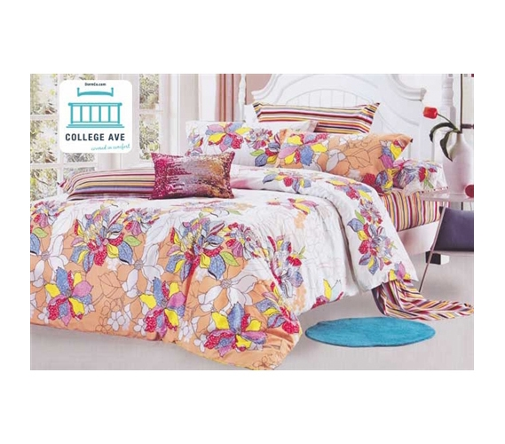 twin xl comforter set college ave dorm bedding sleep better with a cotton comforter. Black Bedroom Furniture Sets. Home Design Ideas