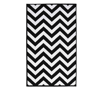 chevron college rug black and white cheap dorm room rugs dorm