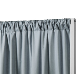 Privacy Room Divider Cotton Fabric  Slate Gray Fabric ONLY