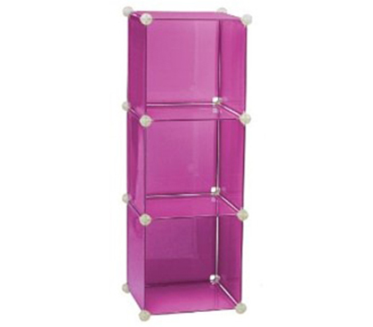 3 Tier Storage Cubes   PINK Closet Organizer Shoe Organizer Cheap Dorm  Supply Storage Product College Dorm Room Ideas For Dorm Organizing