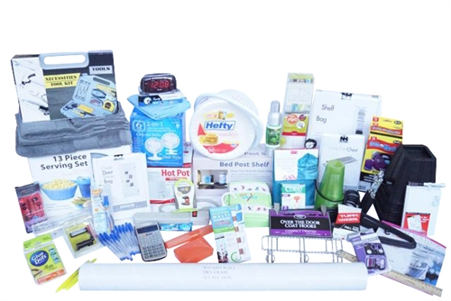 large college supply assortment super mega dorm pack