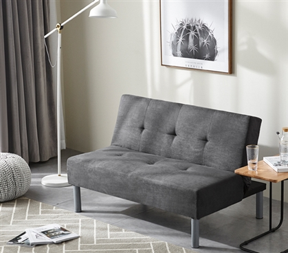 College Mini Futon Dorm Sized Sofa Furniture Essential For Room Seating Where Students Can Relax Lounge And Hang Out