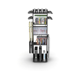 Smart Space Saving College Decor - Video Game Central 60 Game Hub