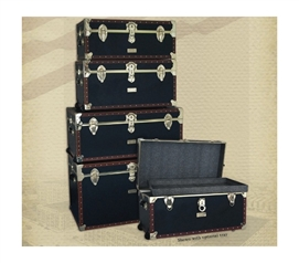 Vintage Styled College Seward Collection - 1878 Series Dorm Trunks