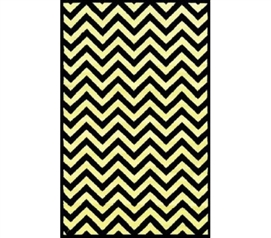 Dorm Rugs Should Be Cheap - Chevron Bolt Dorm Room Rug - Decor For Dorms Is Needed