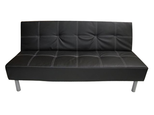 Black College Futon Dorm Furniture