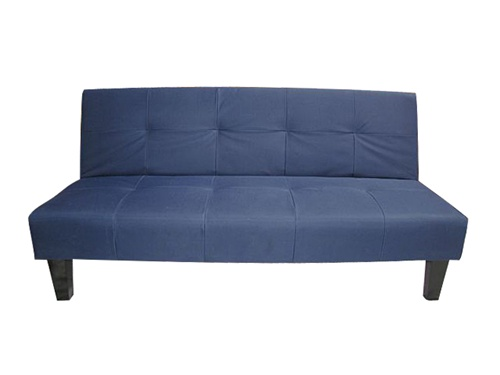 Navy Blue Collegiate Futon Dorm Room Furniture