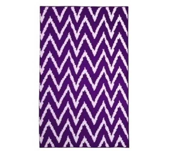 Xl Purple Rug: Add Character And Color