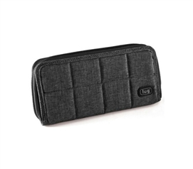 Lady Inspired Style Handspring Wallet - Midnight Black