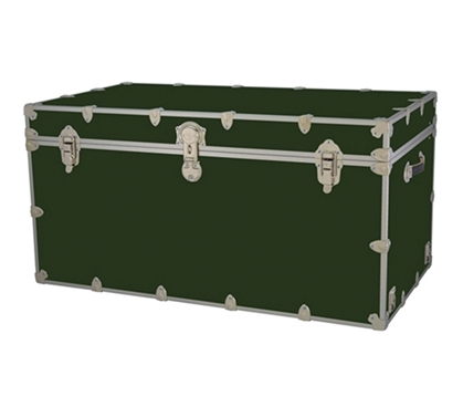 Charming College Trunks   Armored   FIT EVERYTHING   Large Dorm Storage Trunk  College Supplies