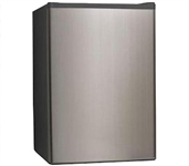 Midea Upright Freezer 3.0 cu ft - Stainless Steel - Quality Freezer For Dorms
