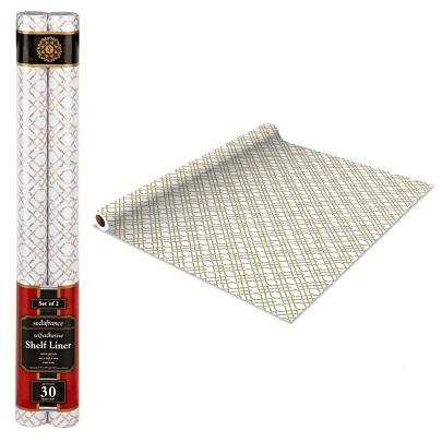 Self Adhesive Shelf Liner Bamboo Paper Liners Shelves