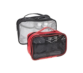 5 Piece College Travel Kit - (Red or Black Available) - All College Necessities For Traveling