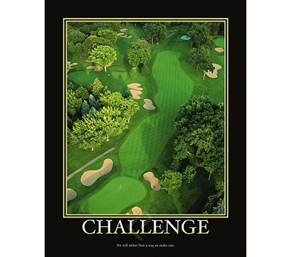 Challenge College Dorm Room Poster Challenge Shown In