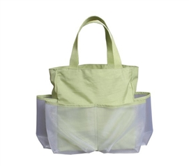 Convenient Organizer For College - Crinkle Carry All - Olive Green - Great For Shower Supplies
