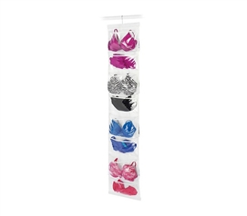 Save Space In Your Dorm - Hanging 16 Pocket Organizer - Great For Bras And Other Clothing