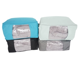 Stay Warm And Organized - Vibrant Zippered Blanket Bag - Super Convenient