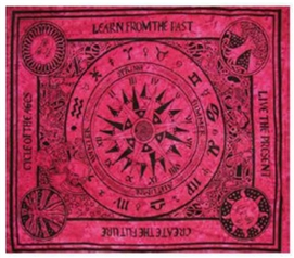 Burgundy Past Tapestry