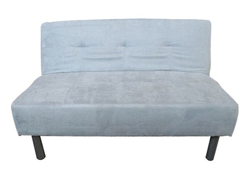 College Mini Futon Classic Gray