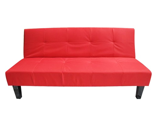 Red Collegiate Dormroom Futon Dorm Room Furniture Essentials