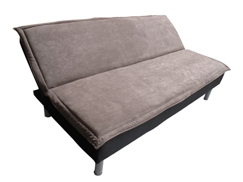 Ultra Plush College Futon in Grey Taupe College Dorm