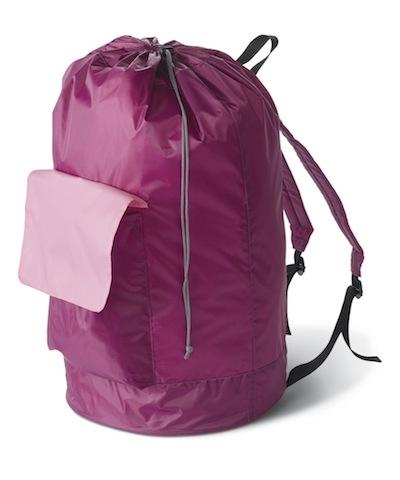 Pink Laundry Backpack Cheap Dorm Stuff