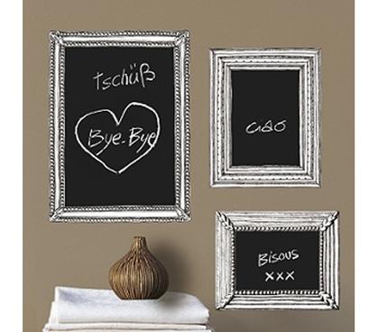 Chalkboard Frame - Dorm Room Peel N\' Stick Wall Decorations College ...