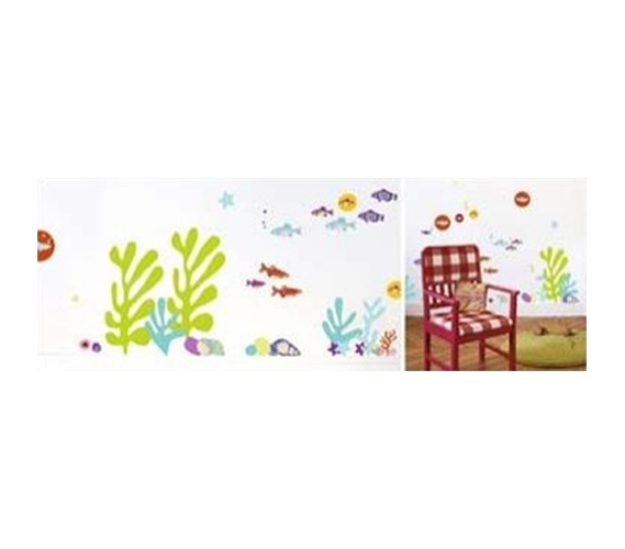 pop fish peel n stick. Black Bedroom Furniture Sets. Home Design Ideas