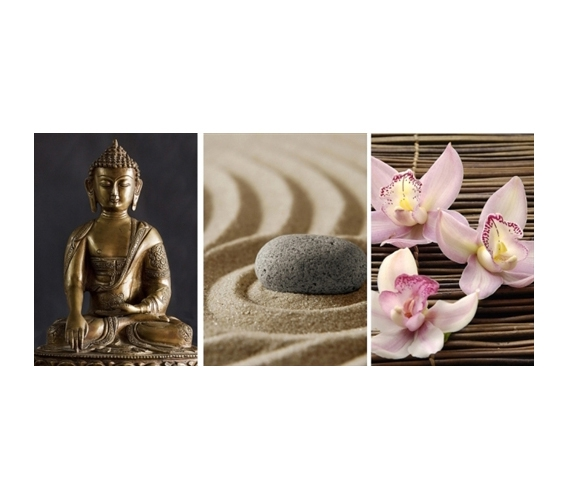 college essentials zen panoramic wall art peel n stick. Black Bedroom Furniture Sets. Home Design Ideas