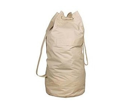 College Over The Shoulder Canvas Flax Laundry Bag Dorm