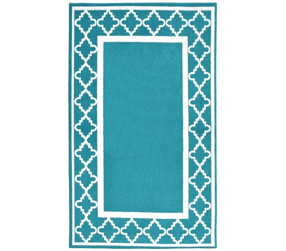 Moroccan Frame College Rug