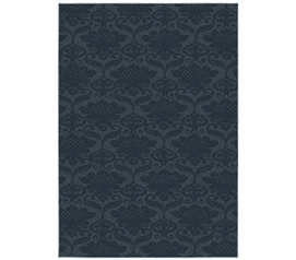 Cheap Dorm Decor - Victorian College Rug - Sky Blue