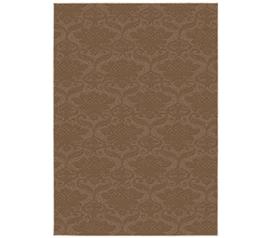 Beautiful Yet Simple Dorm Decor - Victorian College Rug - Tan