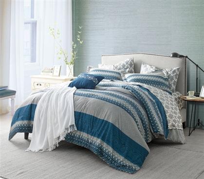 Extra Long Twin Dorm Room Comforter Dorm Essentials Twin