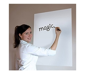 "Fun Dry Erase - Dry Erase Magic White Board Sheets - 24"" x 32"" Great For Studying In College"