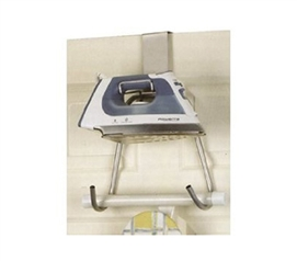 Iron & Ironing Board Holder Over the Door dorm space saver