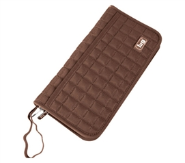Useful Dorm Item - Tango Travel Wallet - Chocolate - Great For Studying Abroad