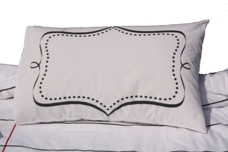 College Bedding Essentials Doodle By Stitch Pillow Case