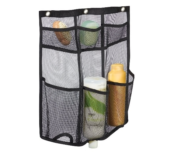 Dorm Bathroom Caddy: Mesh Storage Hanging Shower Caddy