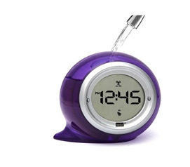 Wake Up To Something Fun - Digital Water Powered Alarm Clock (5 Colors Available) - No Batteries Needed