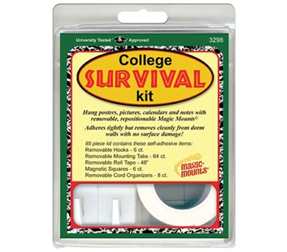 College Survival Kit For Hanging Dorm Room Decorations