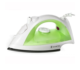 Green Steam Iron dorm laundry necessity