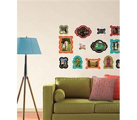 Awesome Photo Frames - Enamel Wall Frames - Peel N Stick - Add Some Pretty Decor